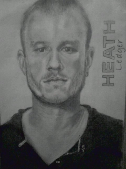 Heath Ledger by Sorella